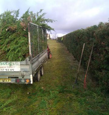 transport déchets verts